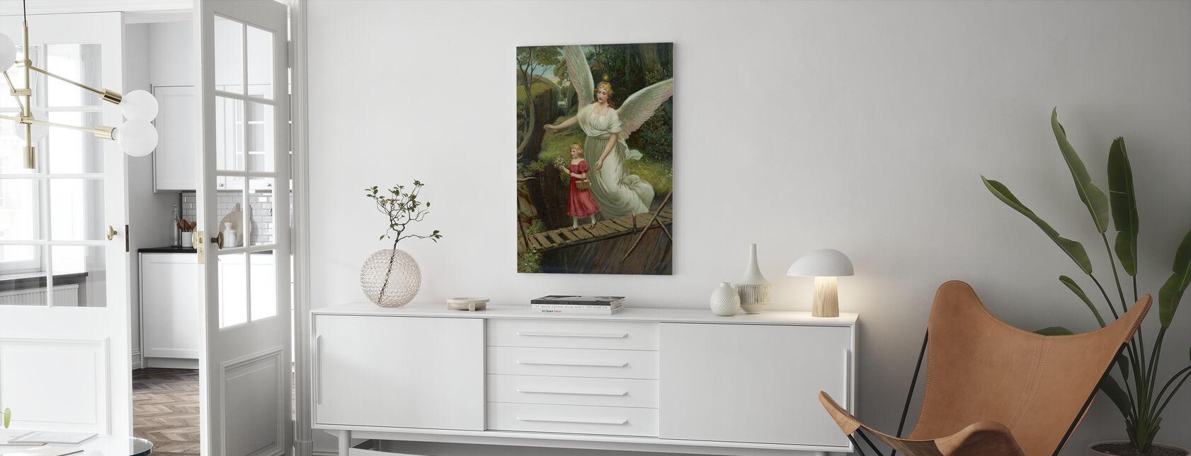 Ange gardien - Impression sur toile - Salle à manger