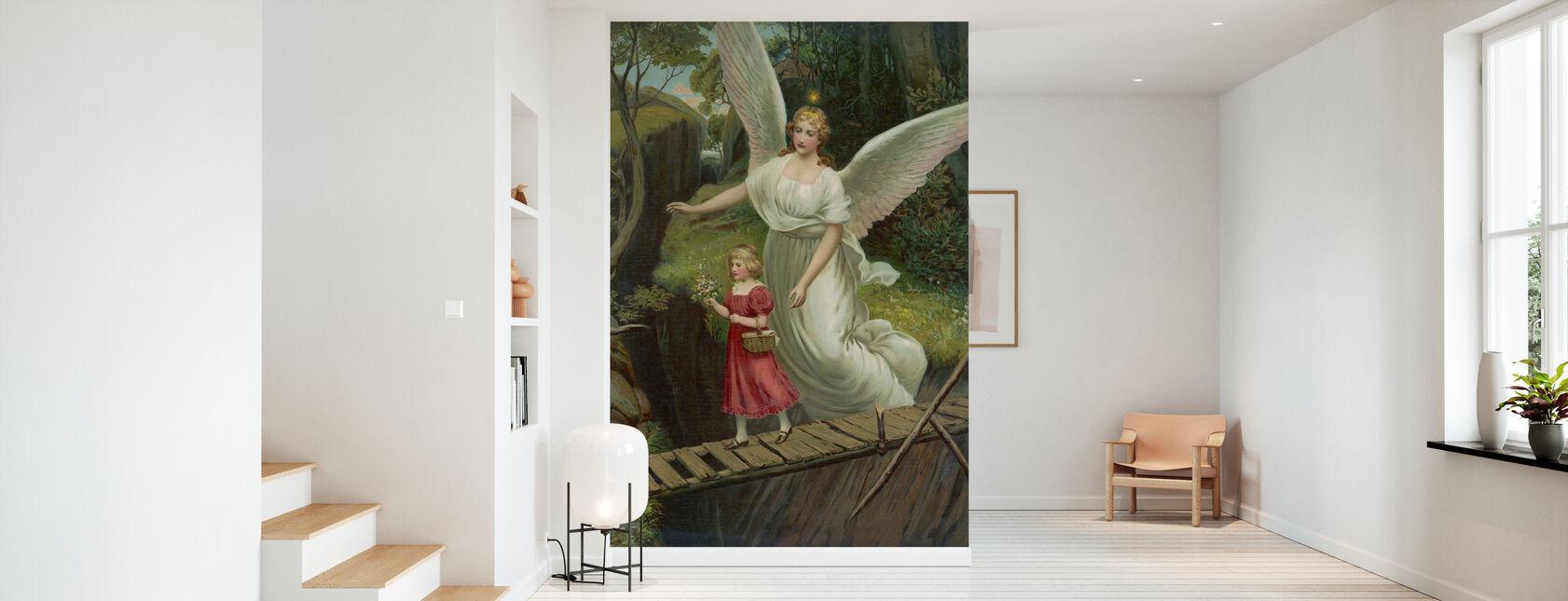 Ange gardien - Papier peint - Entrée