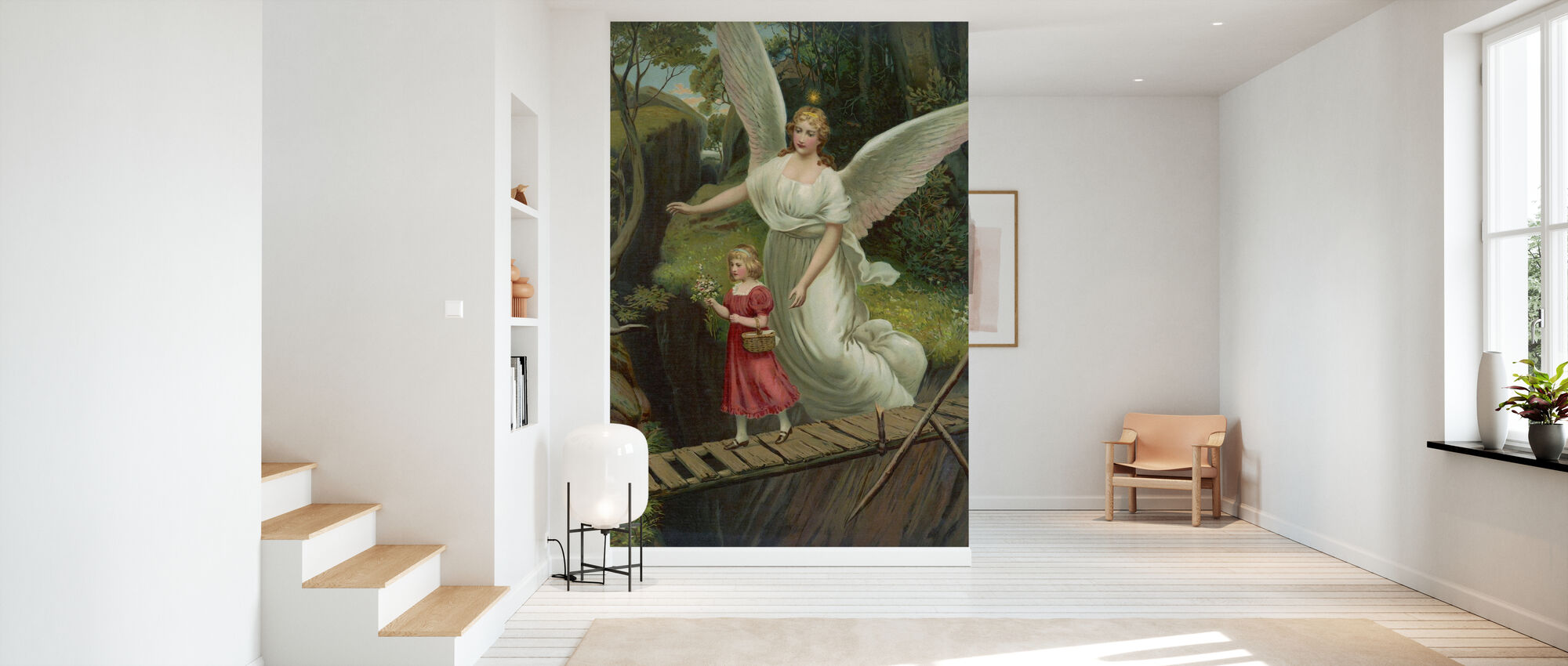 Guardian Angel - Wallpaper - Hallway