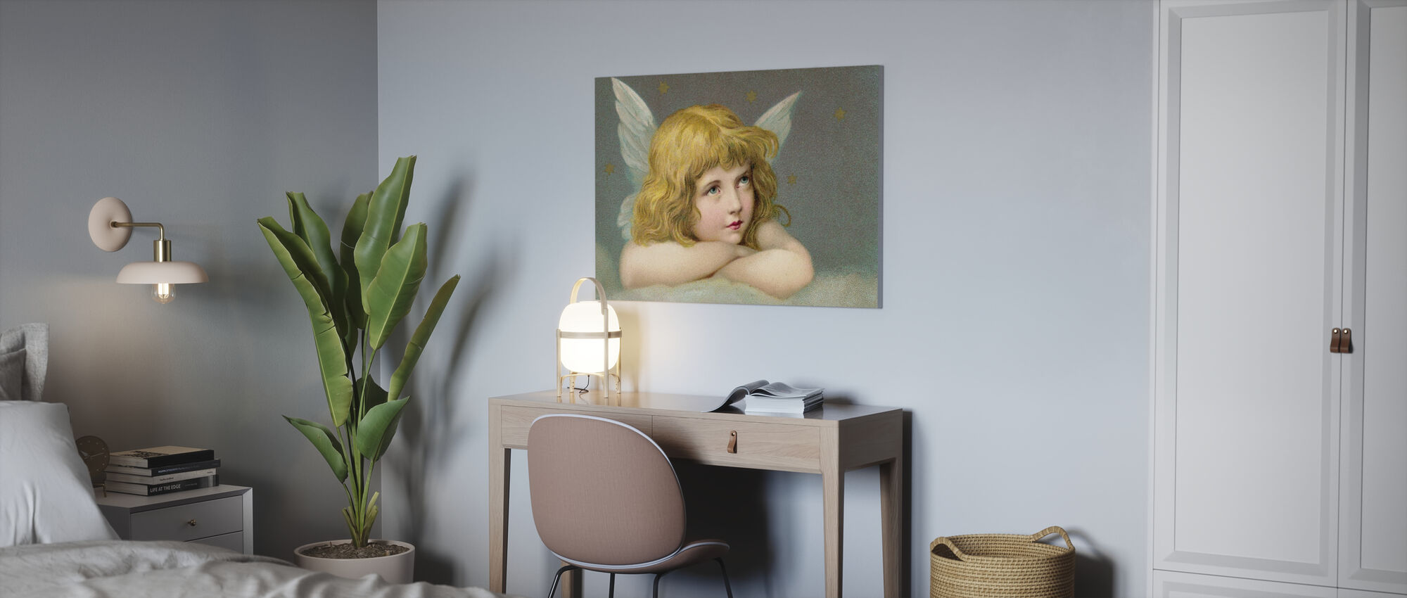 Petit Ange - Impression sur toile - Bureau