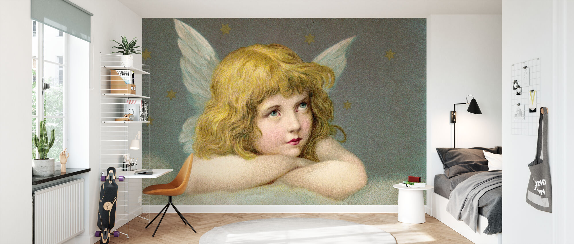 Little Angel - Wallpaper - Kids Room