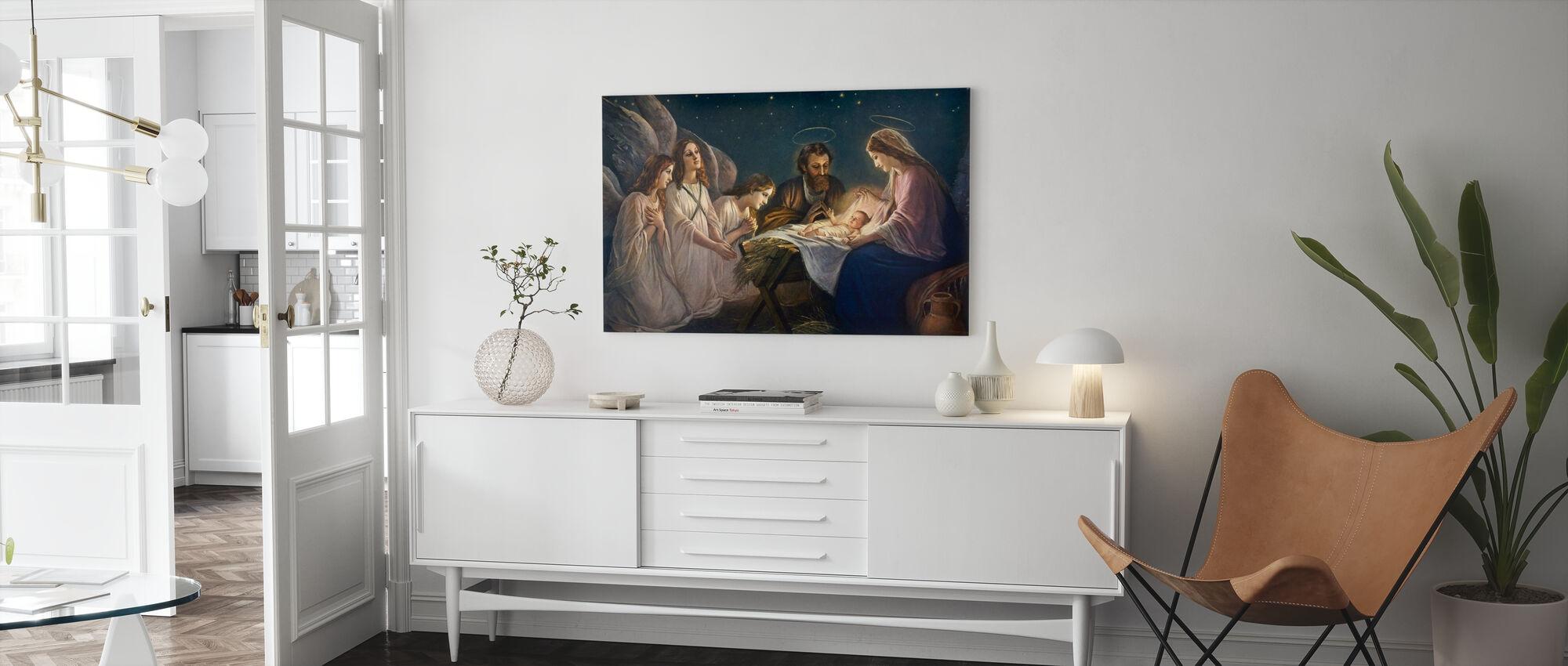 Joseph et Marie - Impression sur toile - Salle à manger