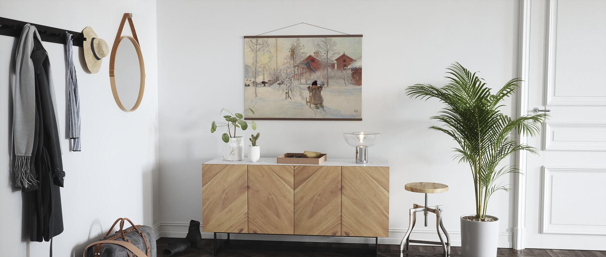 Carl Larsson - Garden ja Bruggen House - Juliste - Aula