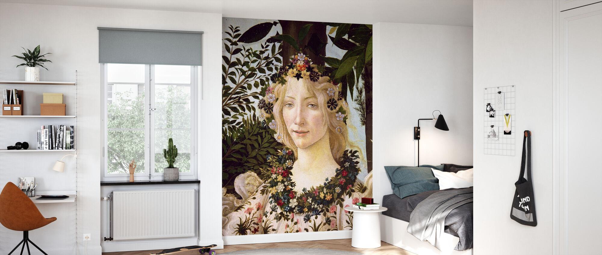 Sandro Botticelli - 158 Flora - Tapet - Barnerom