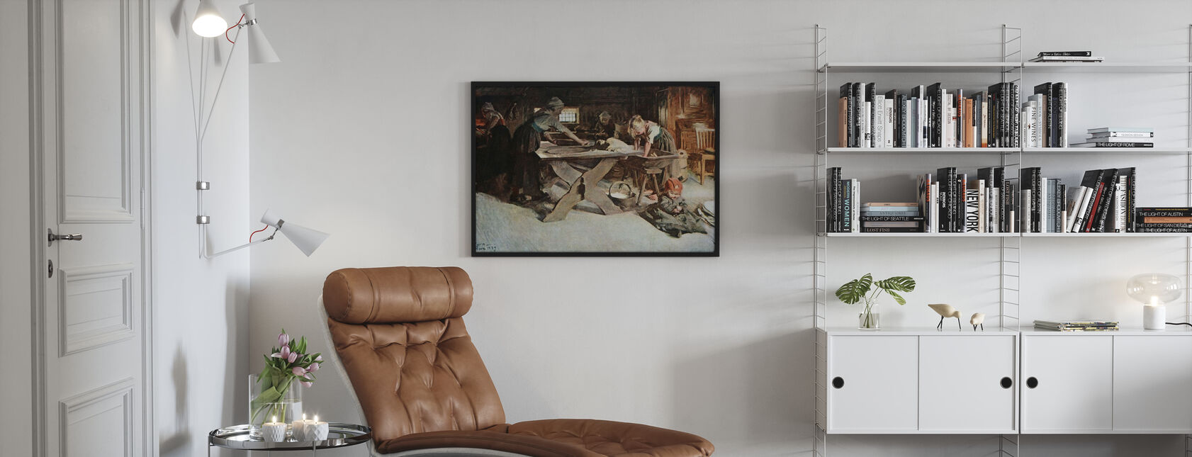 Anders Zorn - Bakningen - Poster - Living Room