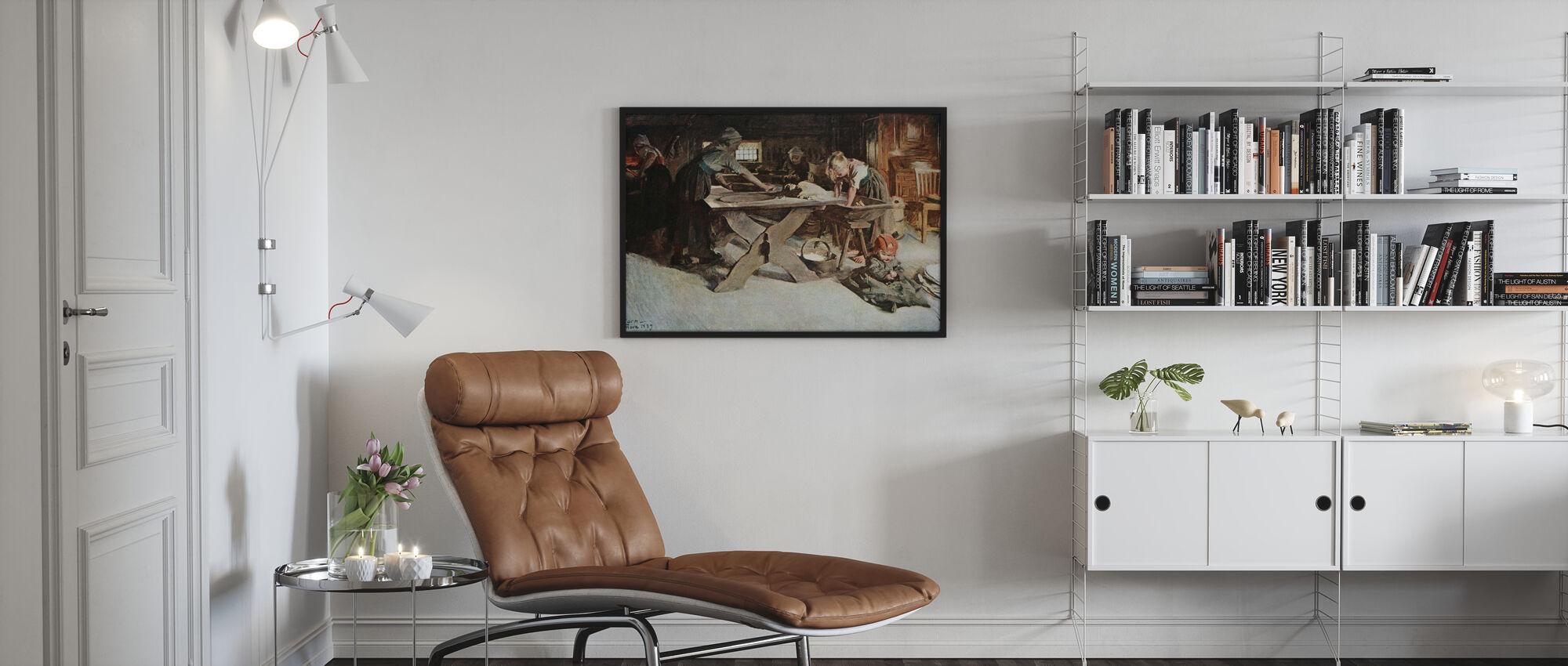 Anders Zorn - Bakningen - Poster - Vardagsrum