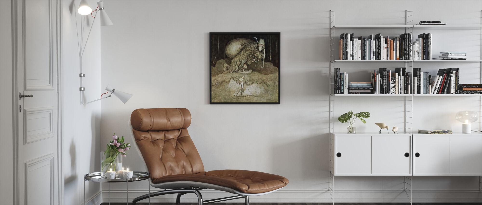 John Bauer - Trollskog - Framed print - Living Room