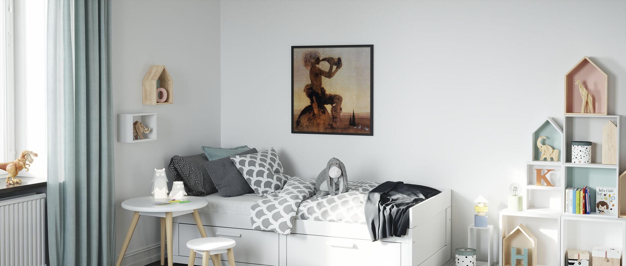 John Bauer - Vil-Vallareman - Poster - Kinderzimmer