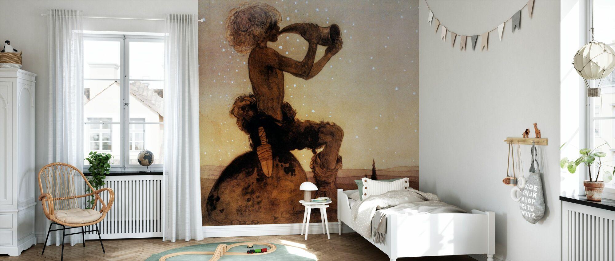 John Bauer - Vil-Vallareman - Wallpaper - Kids Room