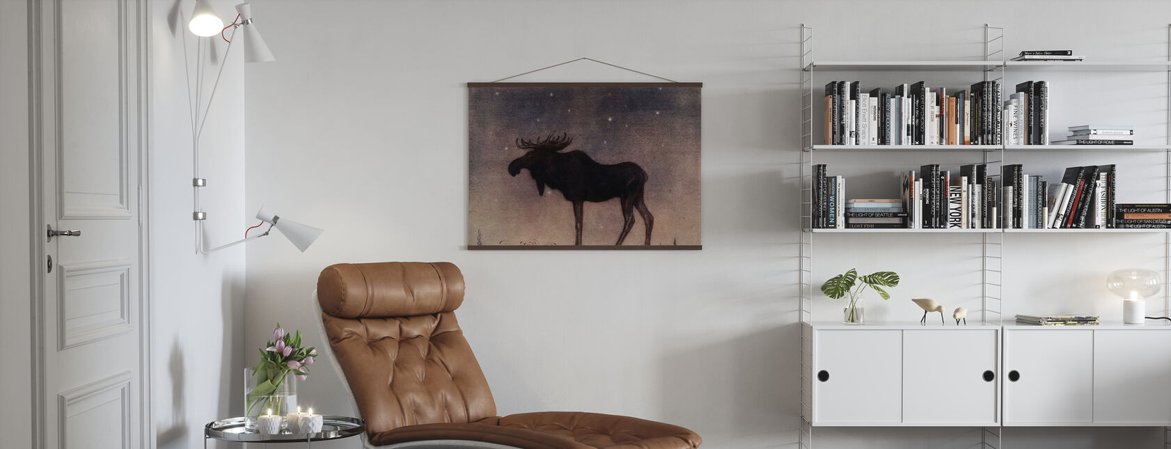 John Bauer - Älgtjuren - Poster - Living Room
