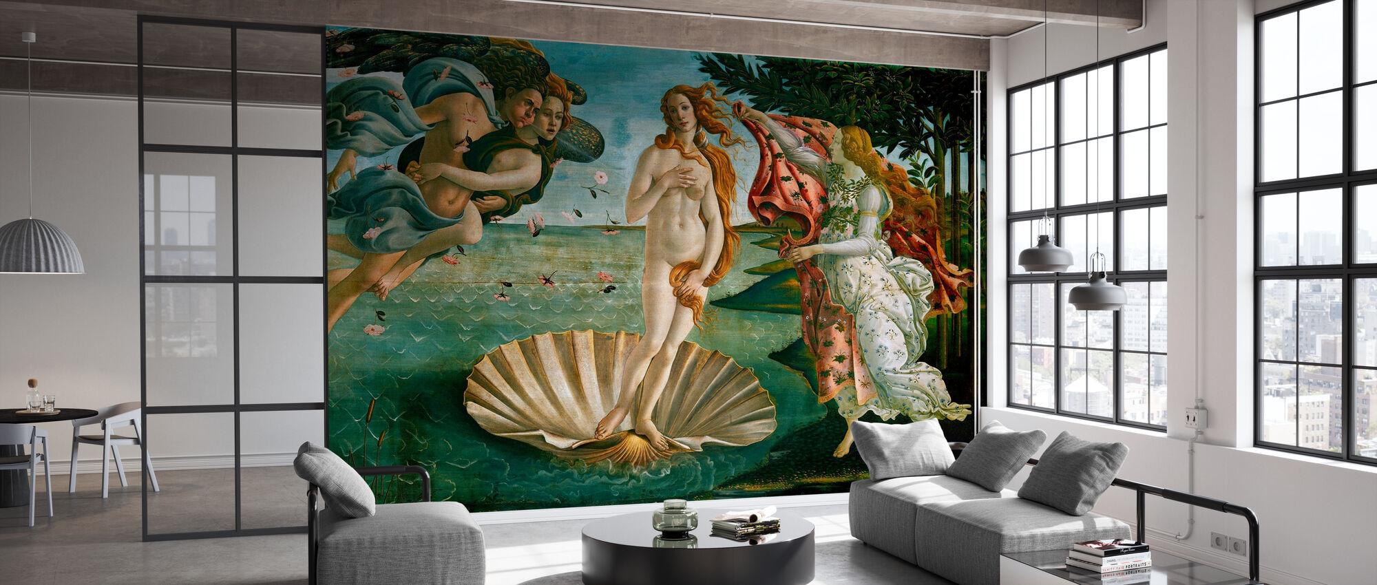Sandro Botticelli - Fødsel av Venus - Tapet - Kontor
