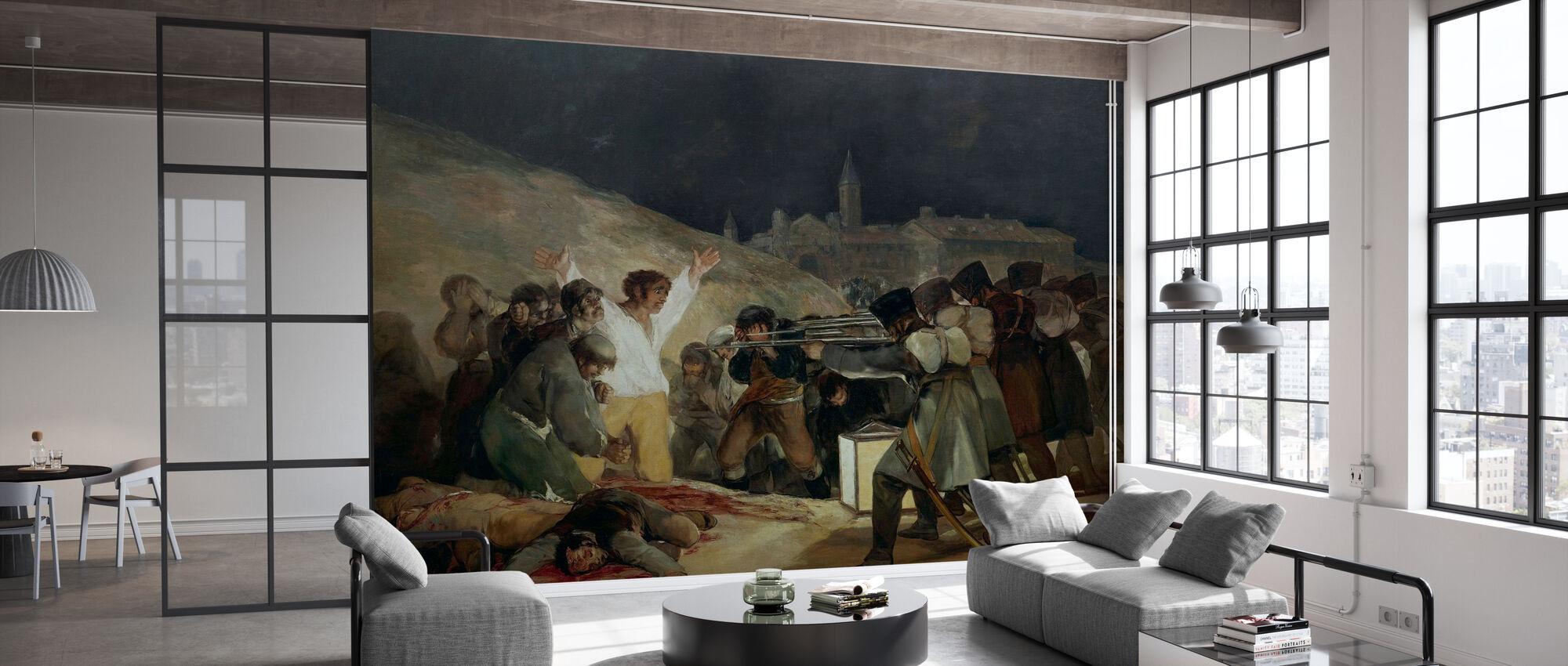 Francisco Goya - Gjennomføring av 3. mai - Tapet - Kontor
