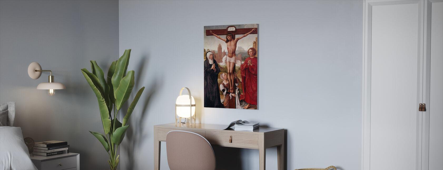 Ristiinnaulitseminen - Canvastaulu - Toimisto