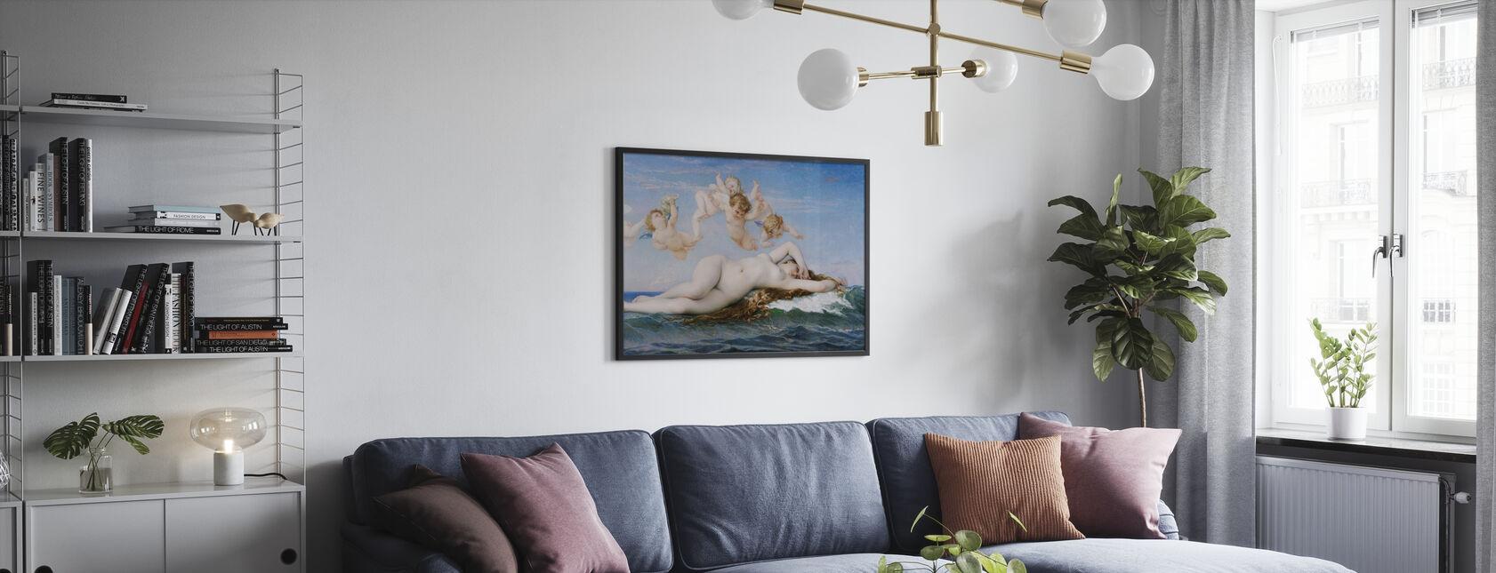 Birth of Venus, Alexandre Cabanel - Poster - Living Room
