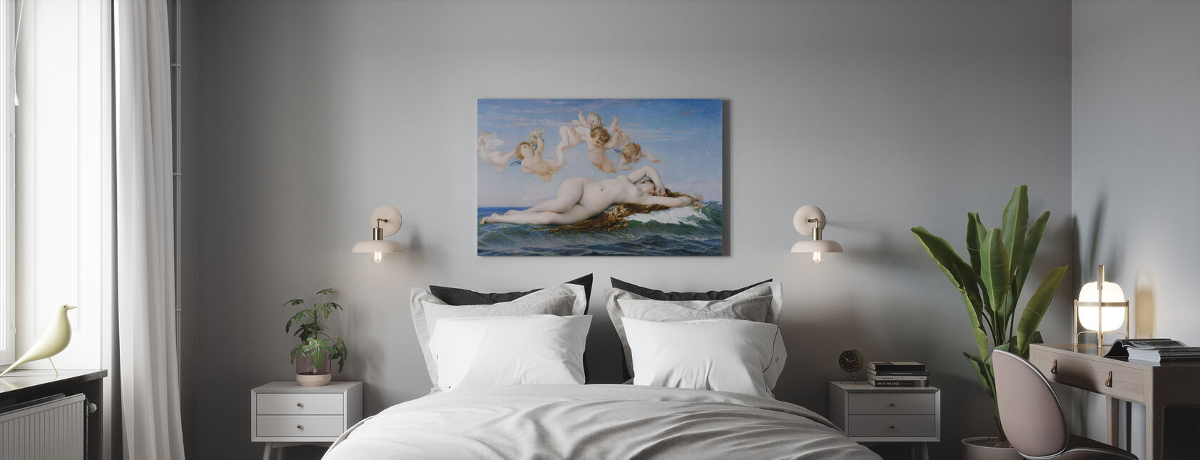 Birth of Venus, Alexandre Cabanel - Canvas print - Bedroom