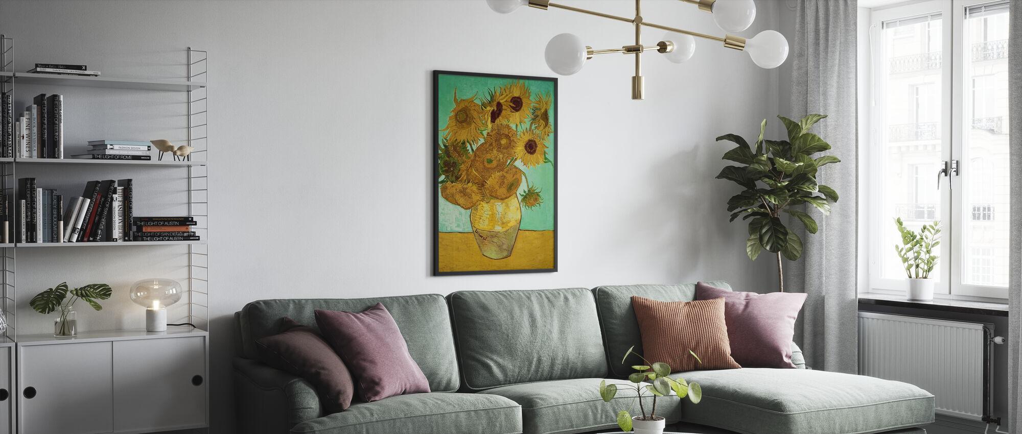 Girasoli - Vincent Van Gogh - Poster - Salotto