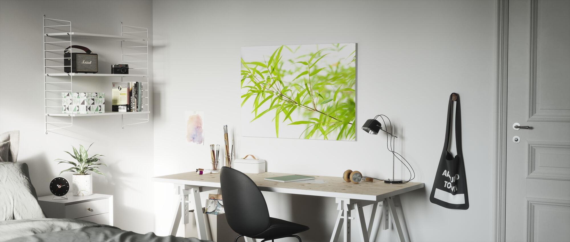 Miniatuur Bamboe - Canvas print - Kinderkamer