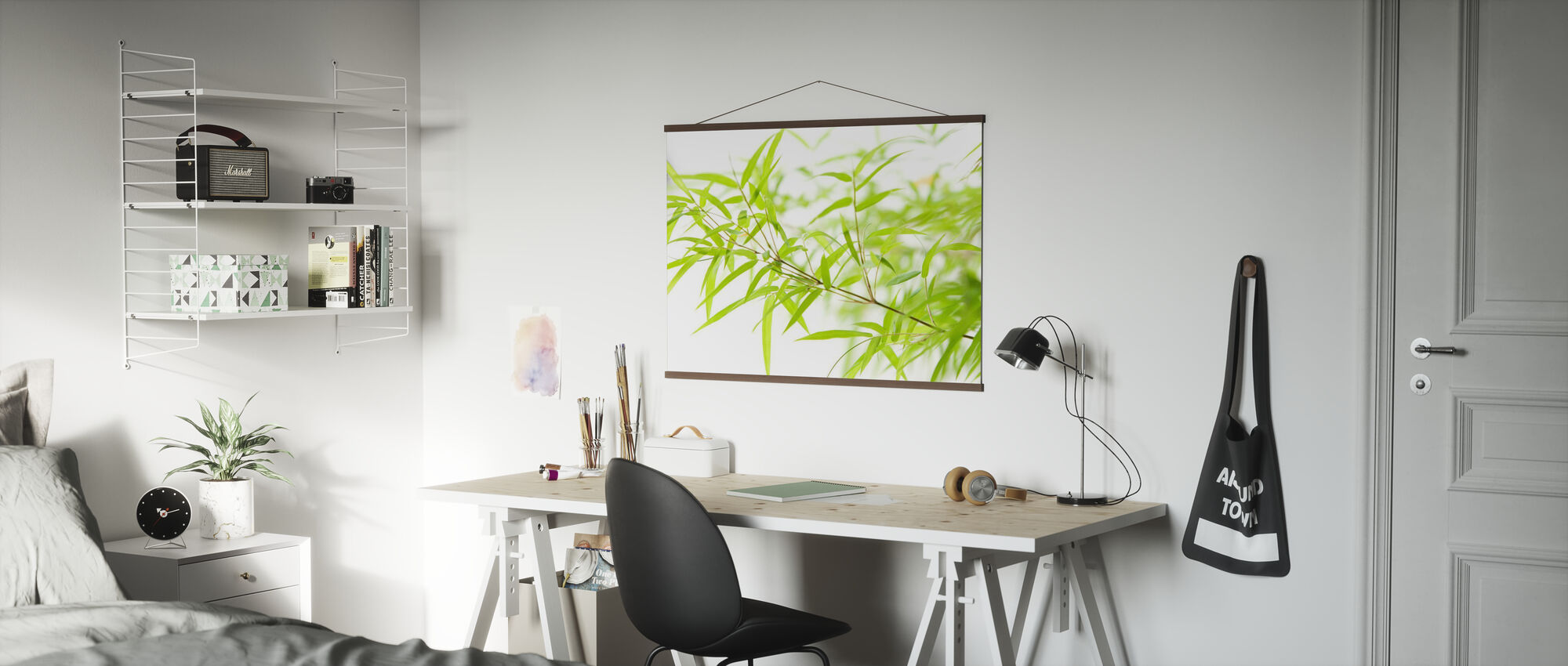 Miniatyr bambus - Plakat - Kontor