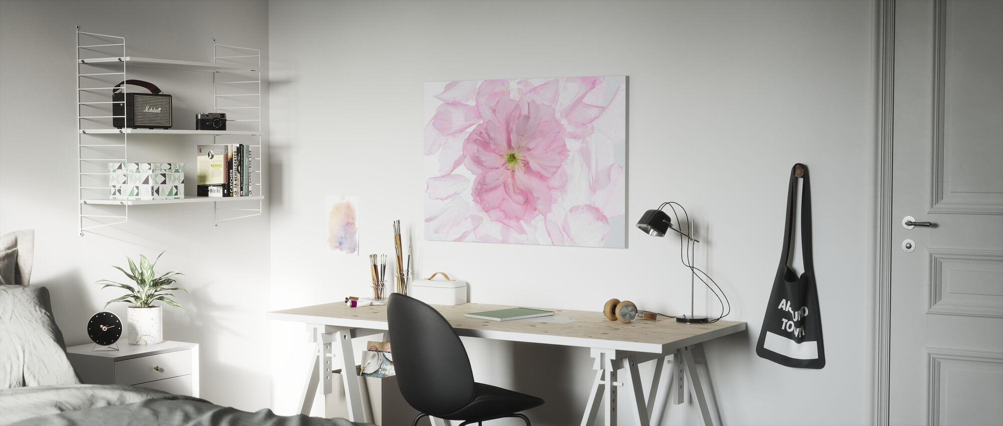 Cherry Bloom - Canvas print - Kids Room