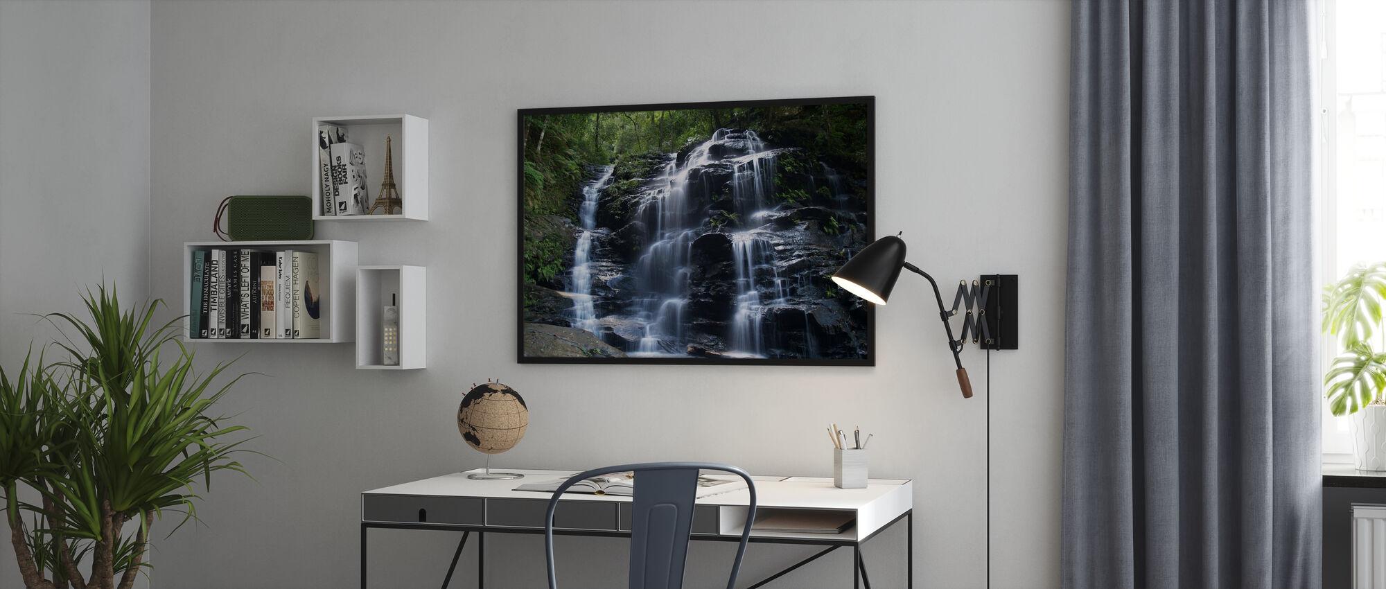 Amazonas-Wasserfall - Gerahmtes bild - Büro