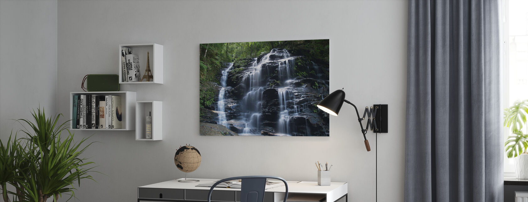 Amazon Waterfall - Canvas print - Office