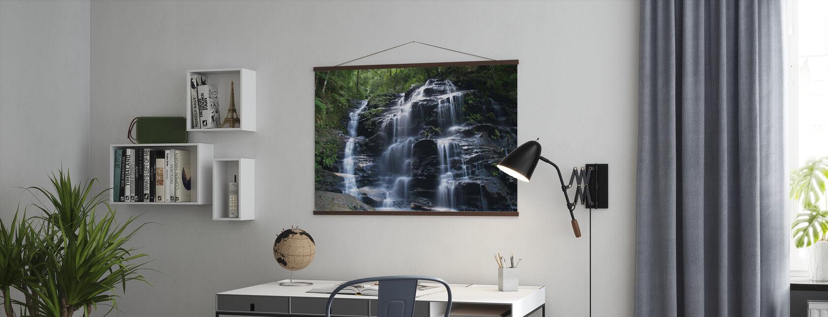 Amazon Waterfall - Poster - Office