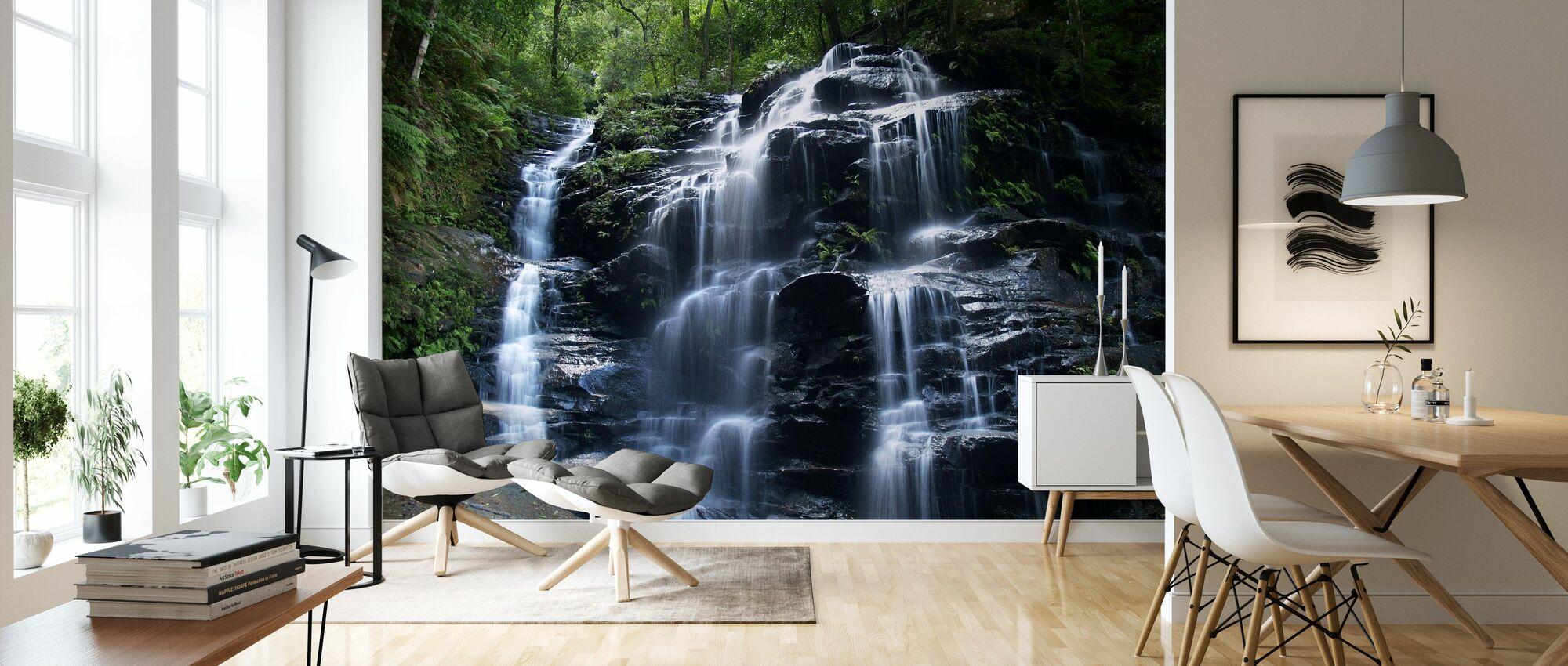 Amazon Waterfall - Wallpaper - Living Room