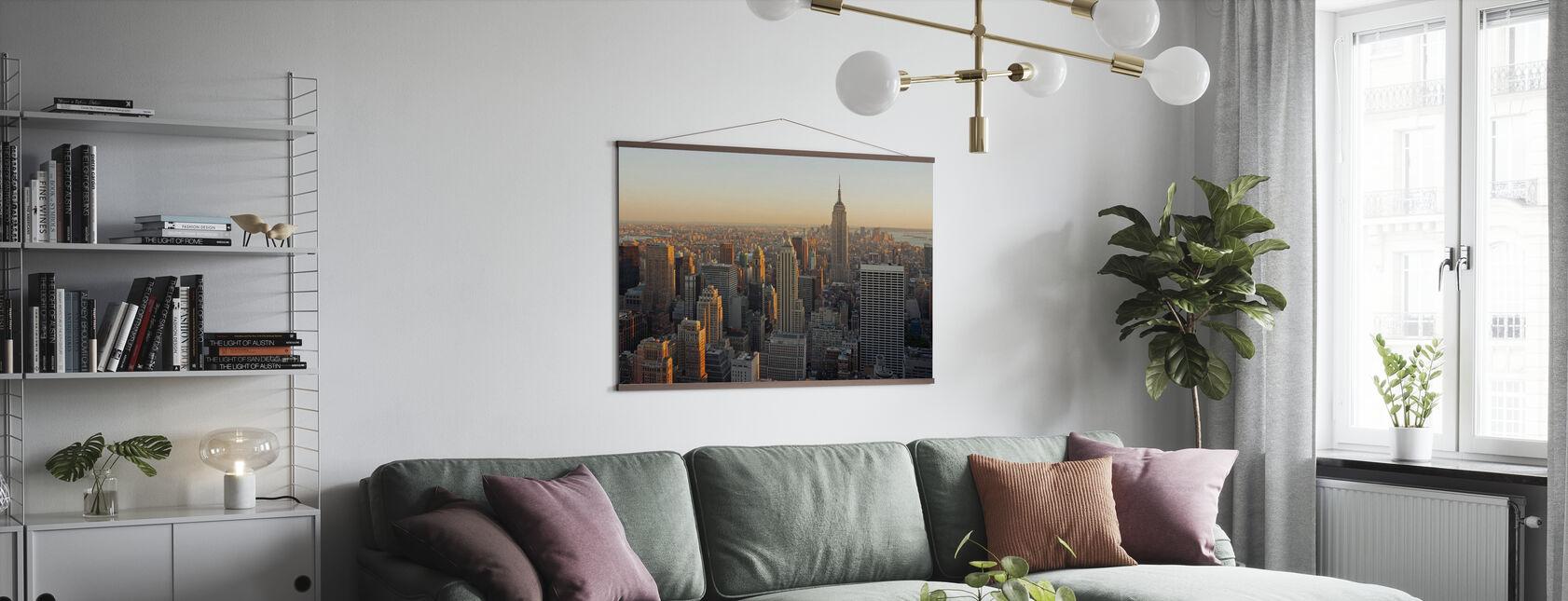 Nueva York, Nueva York - Póster - Salón