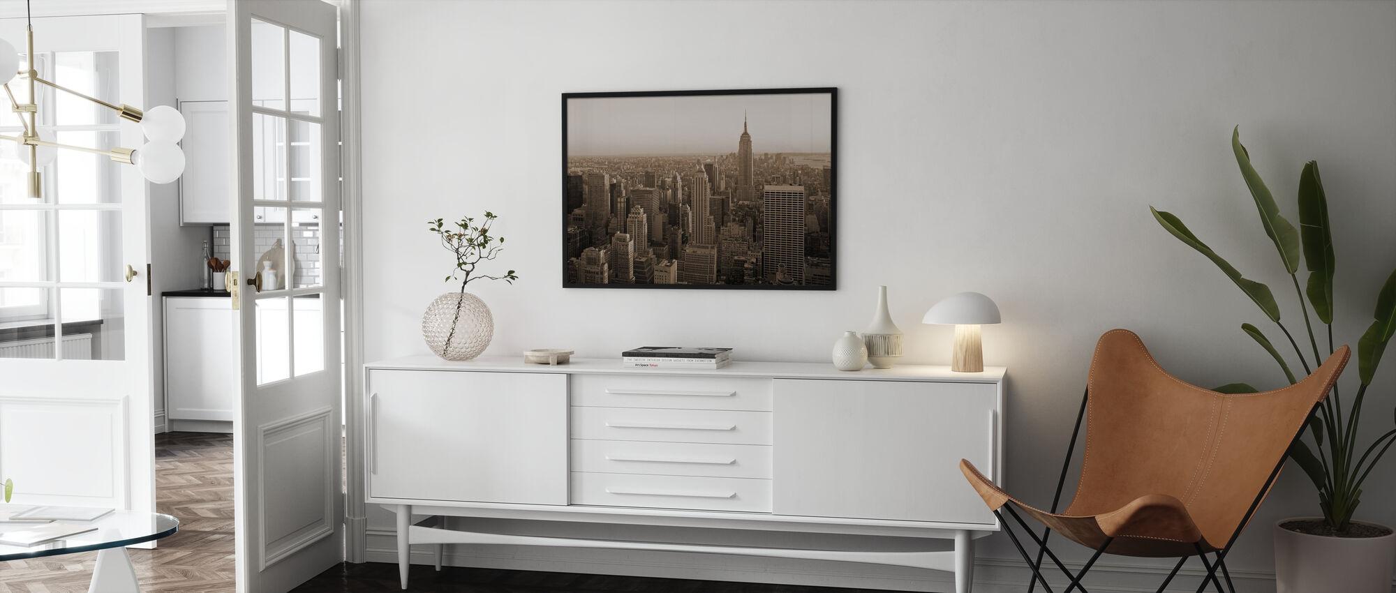 New York City, New York - Framed print - Living Room