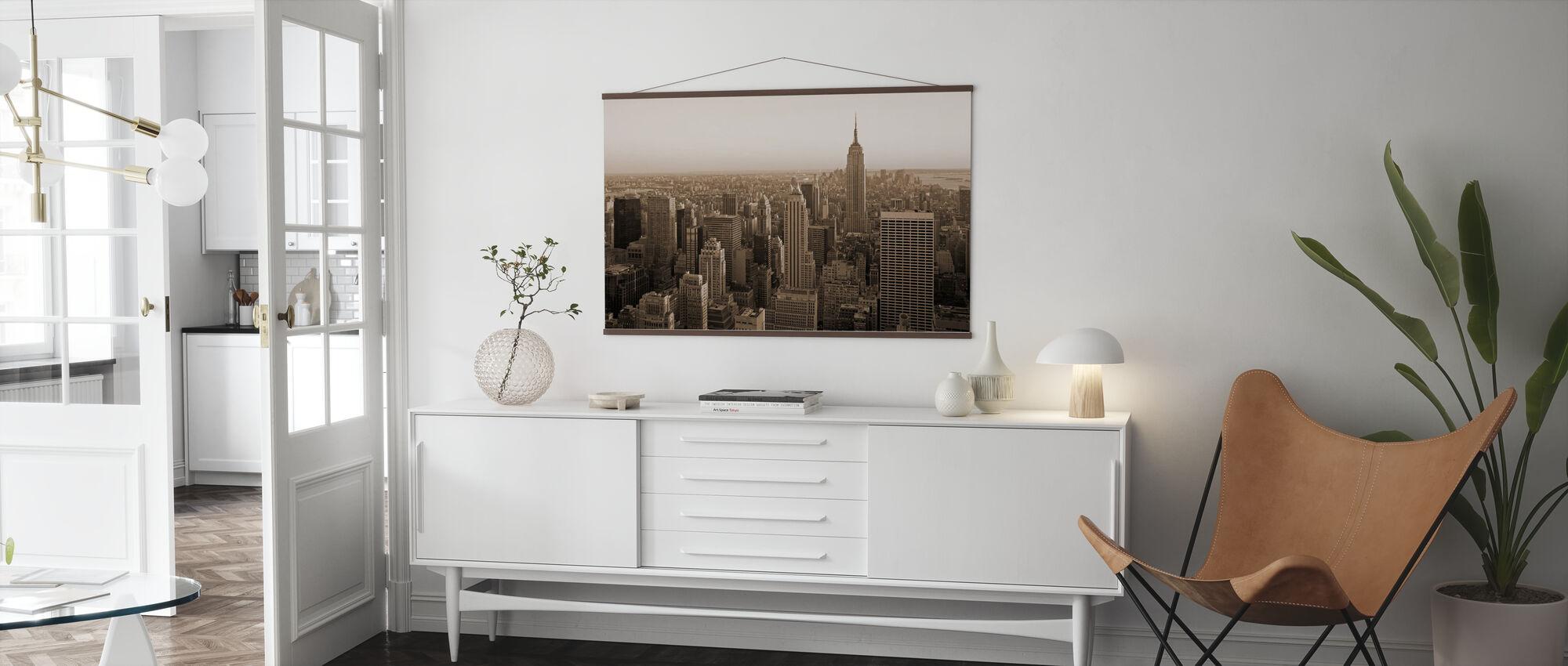 New York City, New York - Poster - Living Room