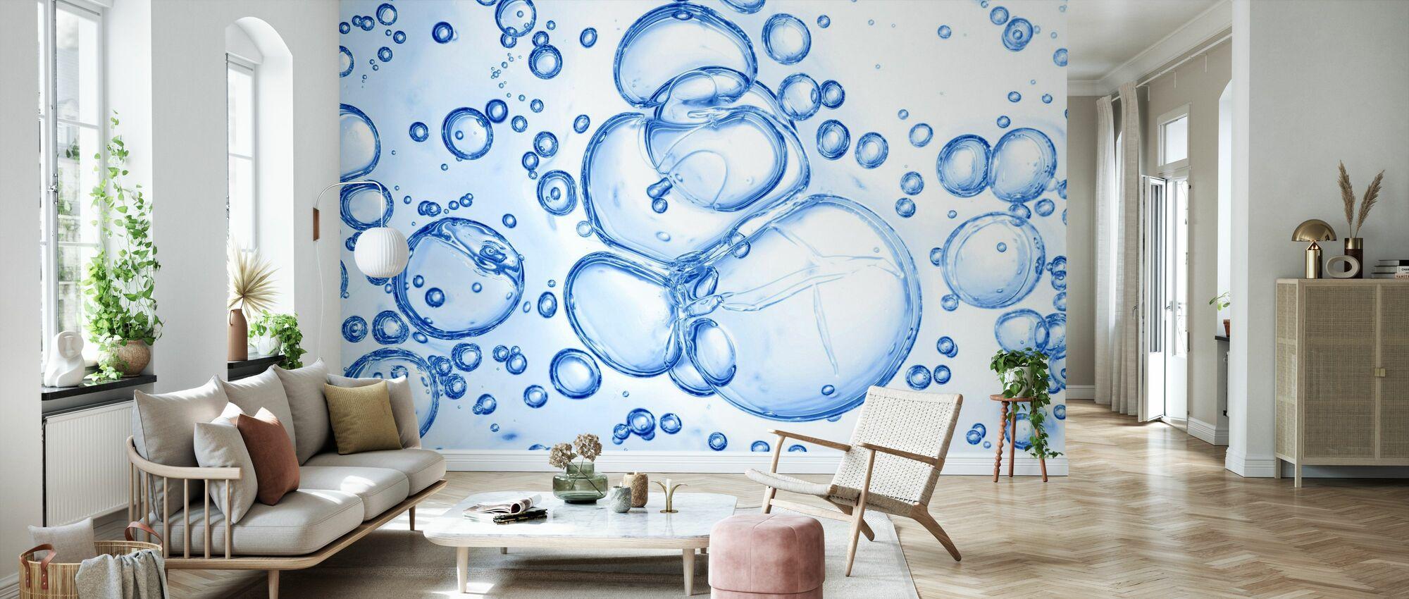 Bubbles Macro - Wallpaper - Living Room