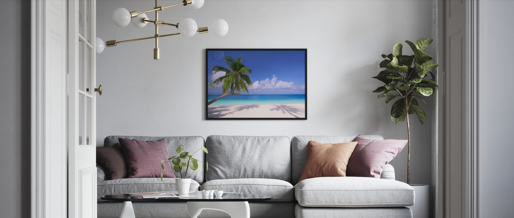 Island Paradise - Poster - Living Room