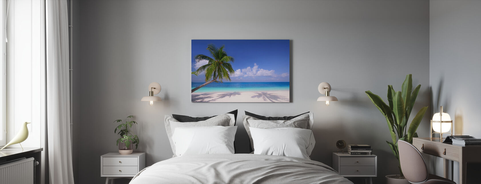 Island Paradise - Canvas print - Bedroom