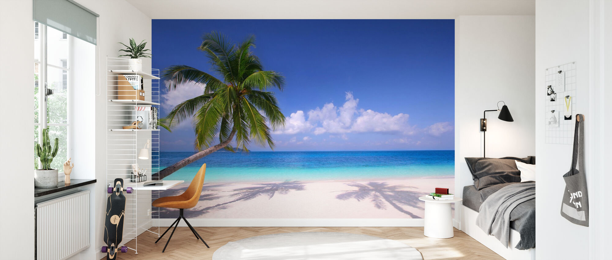 Island Paradise - Wallpaper - Kids Room