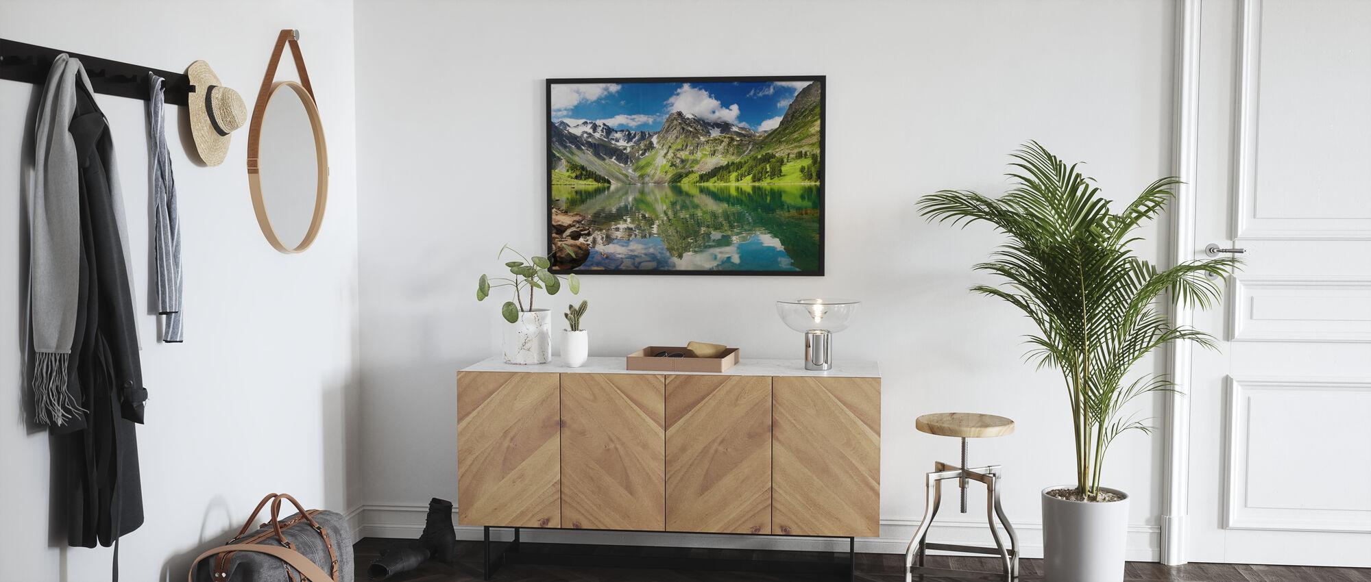 Mountain Lake - Framed print - Hallway