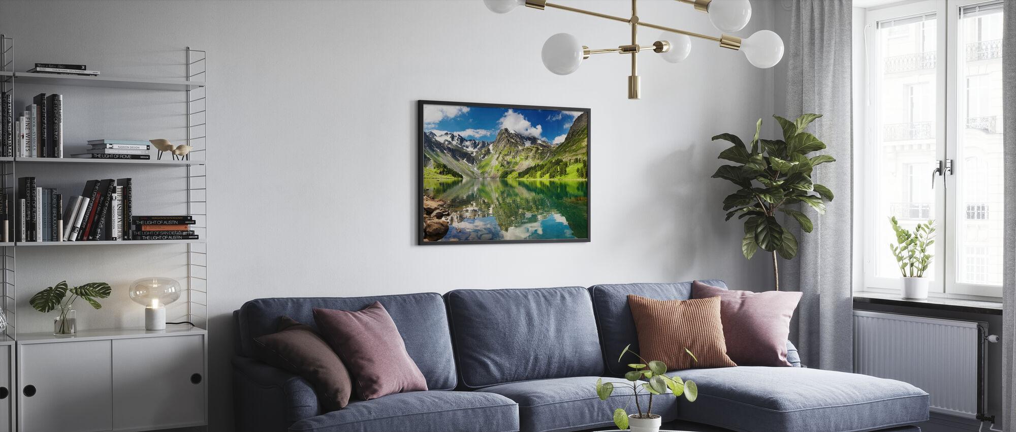 Mountain Lake - Poster - Living Room