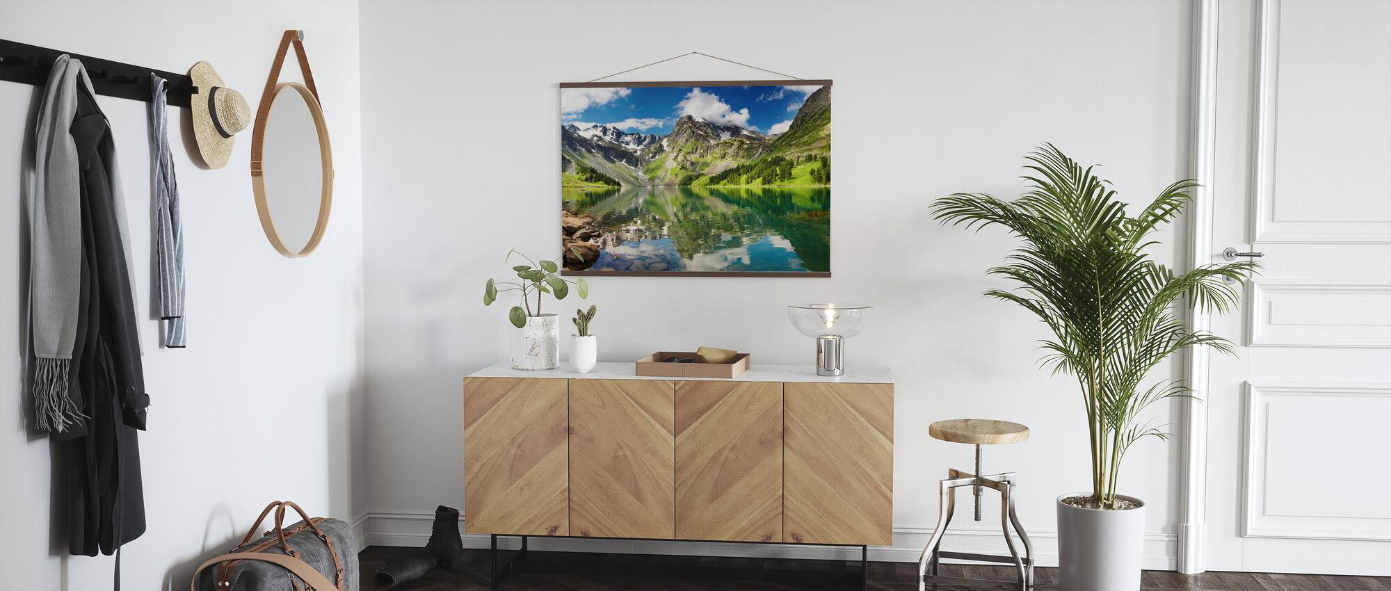 Mountain Lake - Poster - Hallway