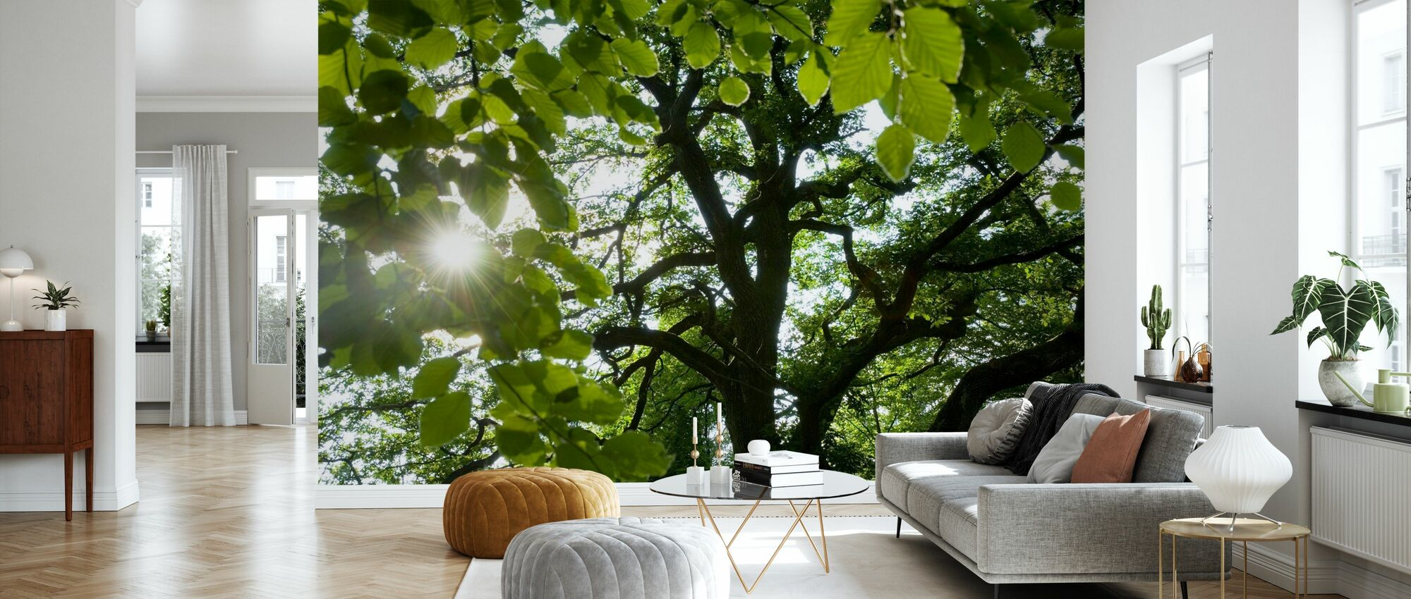 Forest Scene - Tapet - Stue