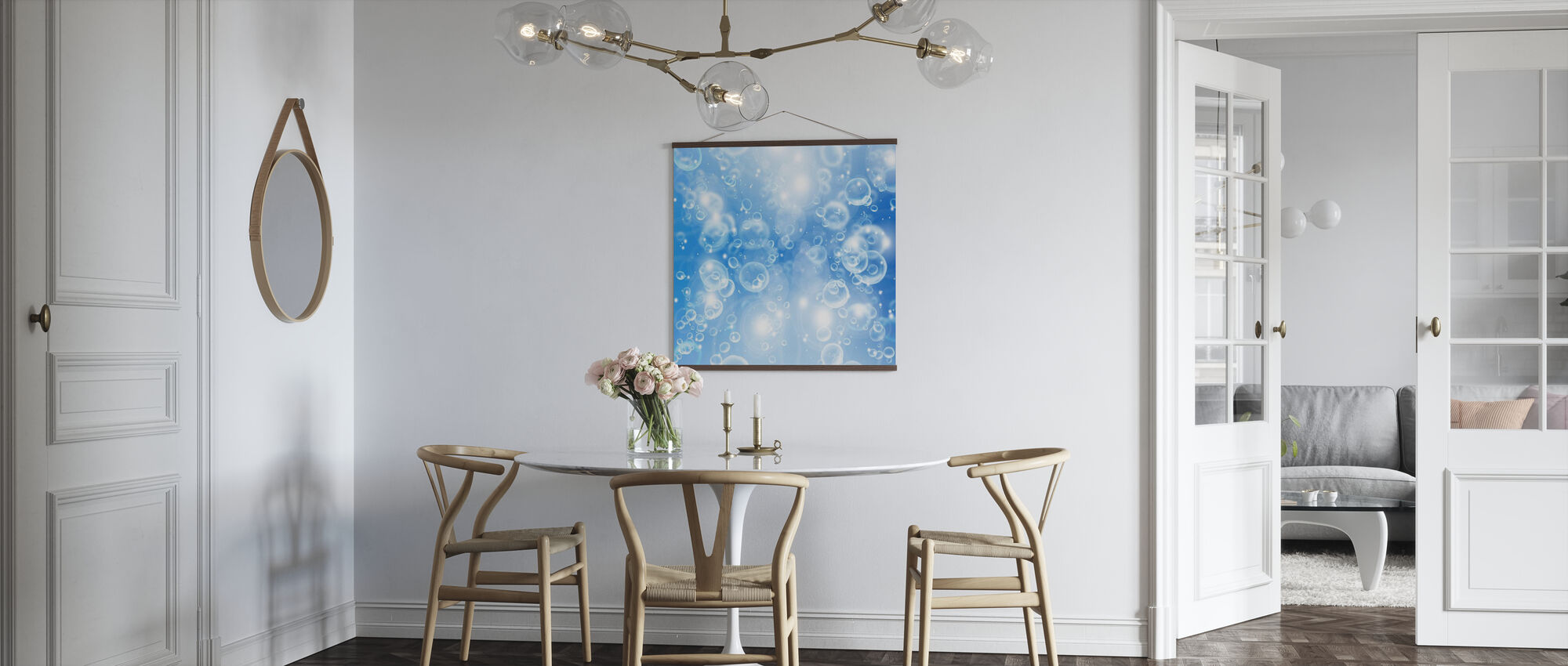 Rising air Bubbles - Poster - Kitchen