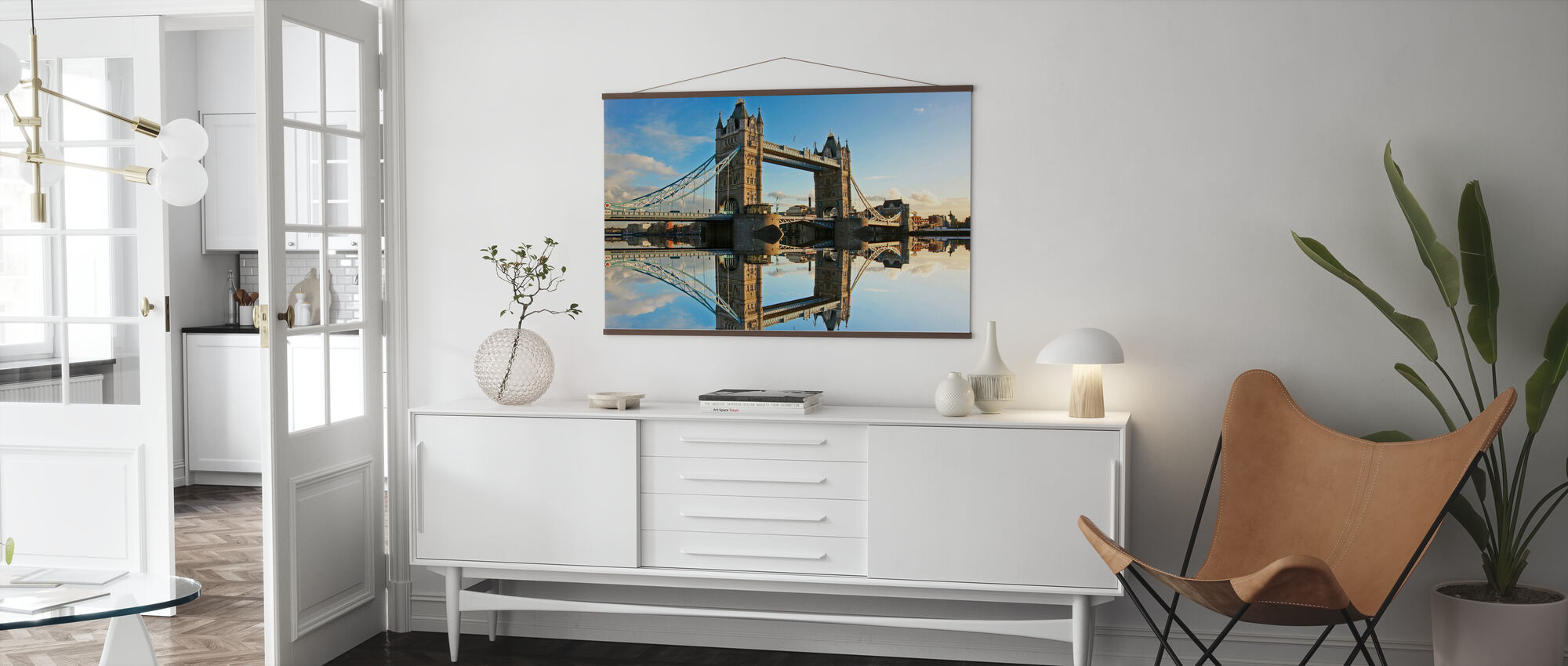 Tower Bridge at Sunset - Poster - Living Room