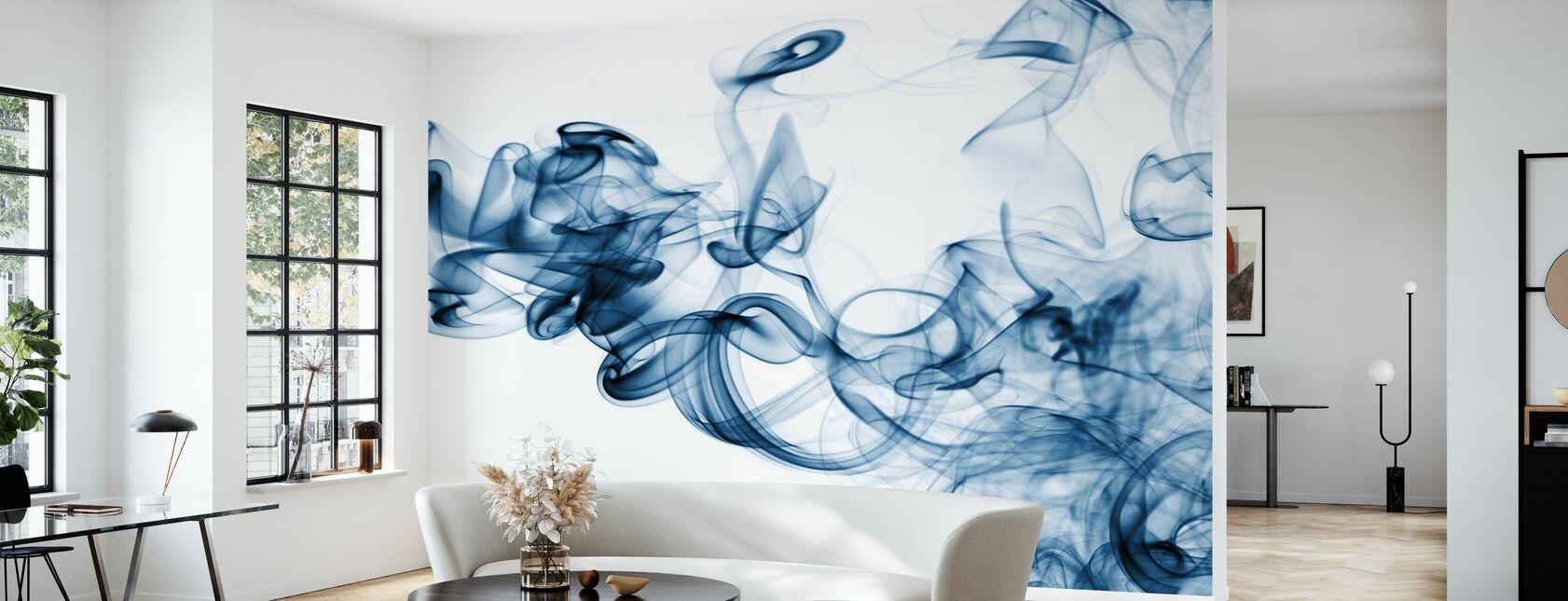 Flux de fumée - Papier peint - Salle à manger