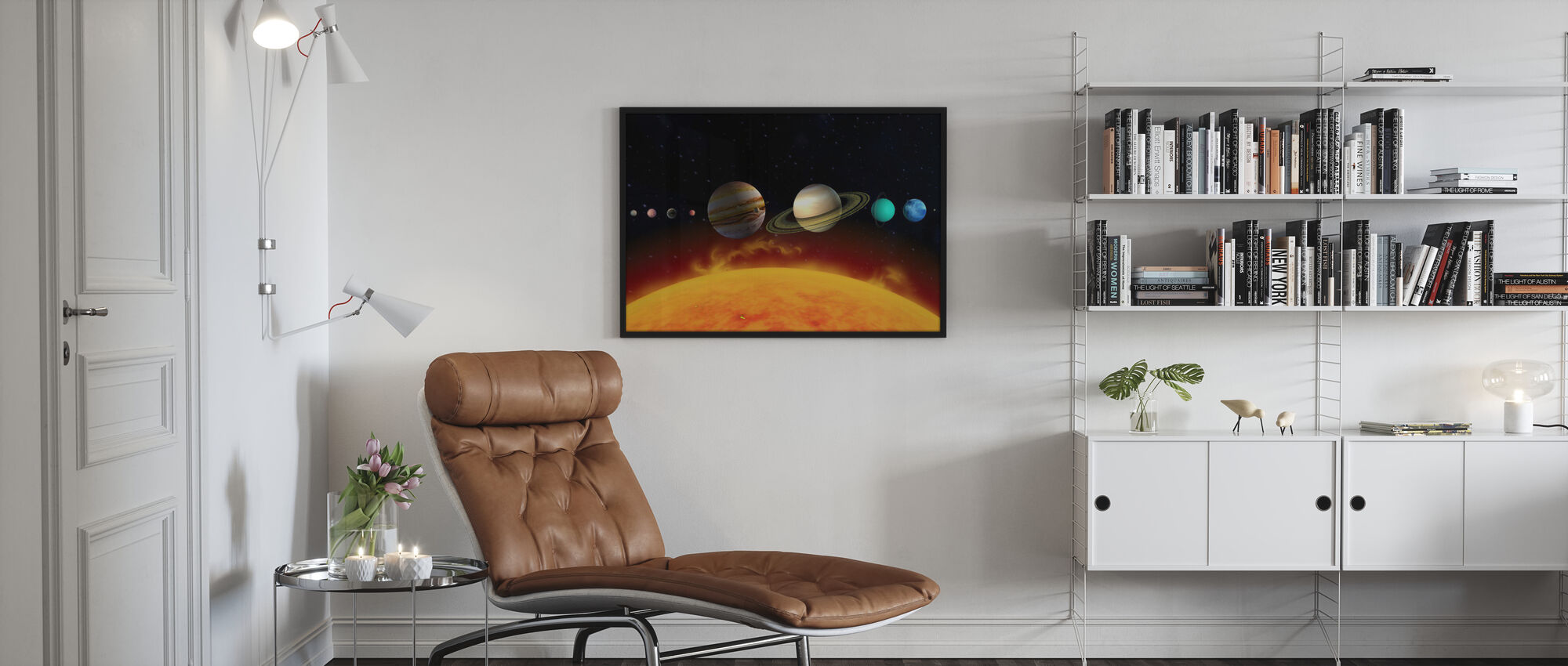 Sun and Planets - Poster - Living Room