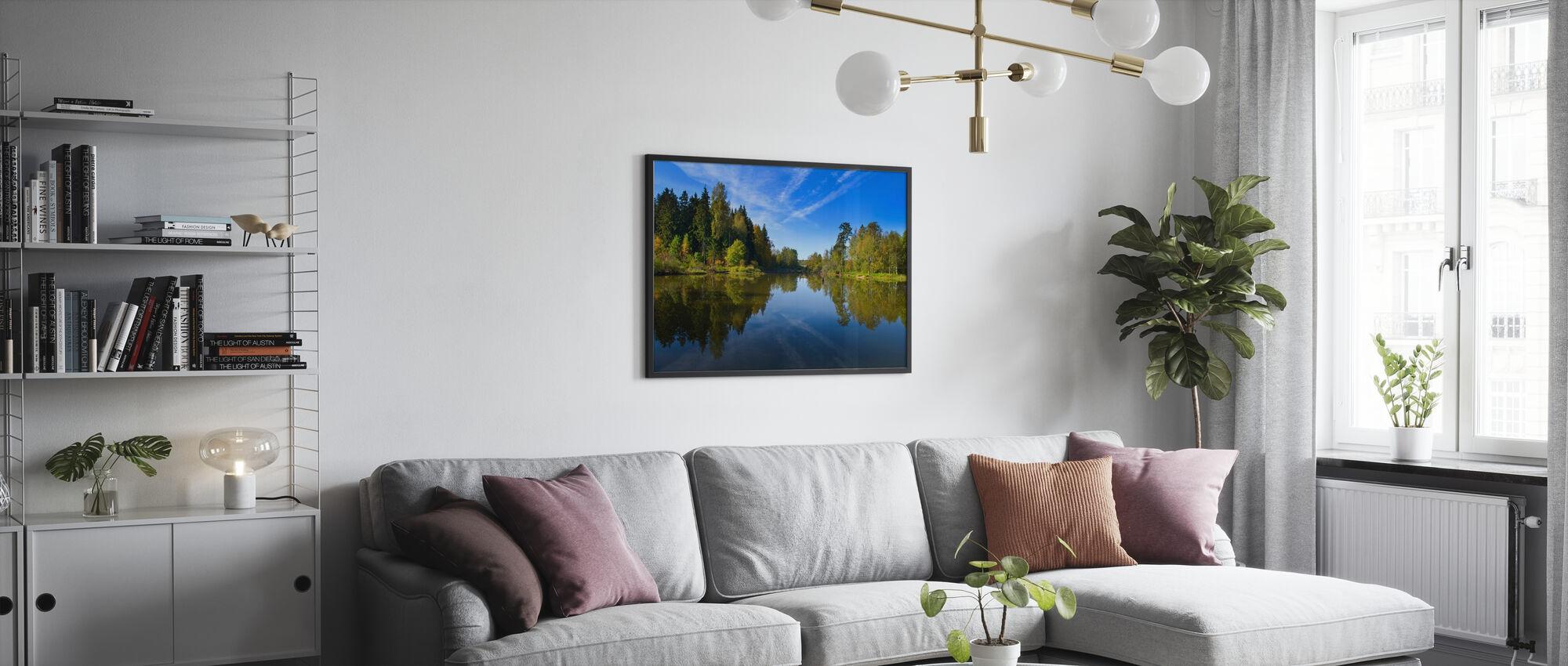 Summer Lake - Poster - Living Room