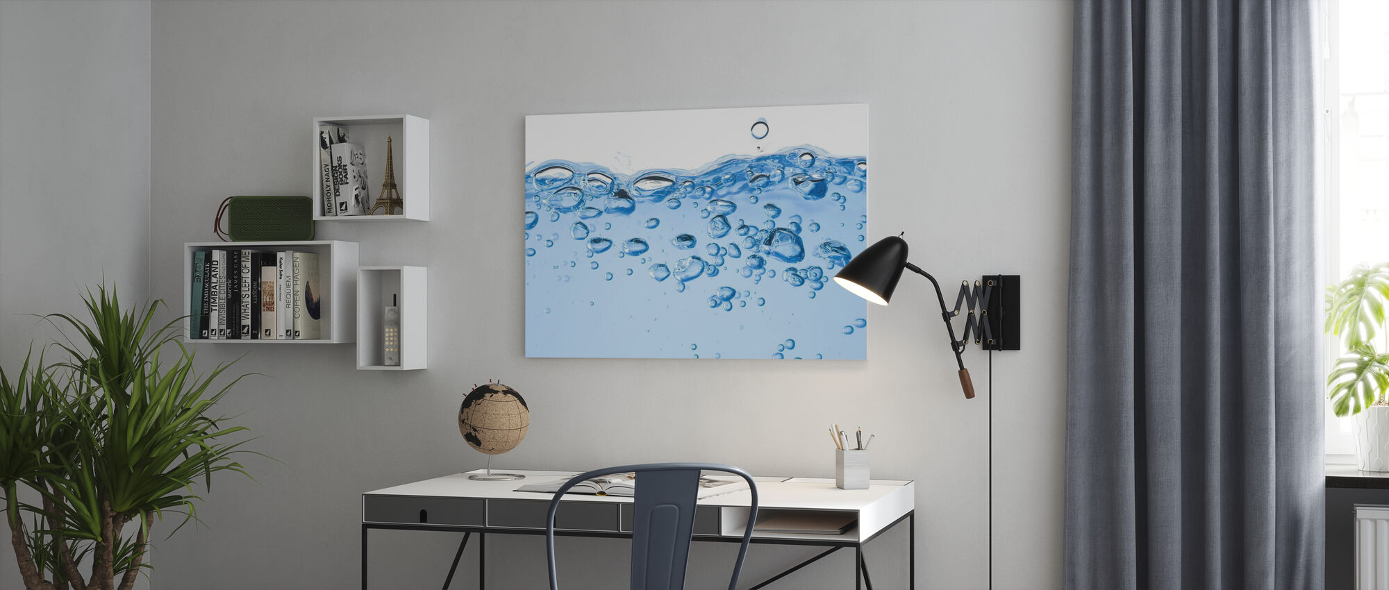 Splashing Water - Canvas print - Office