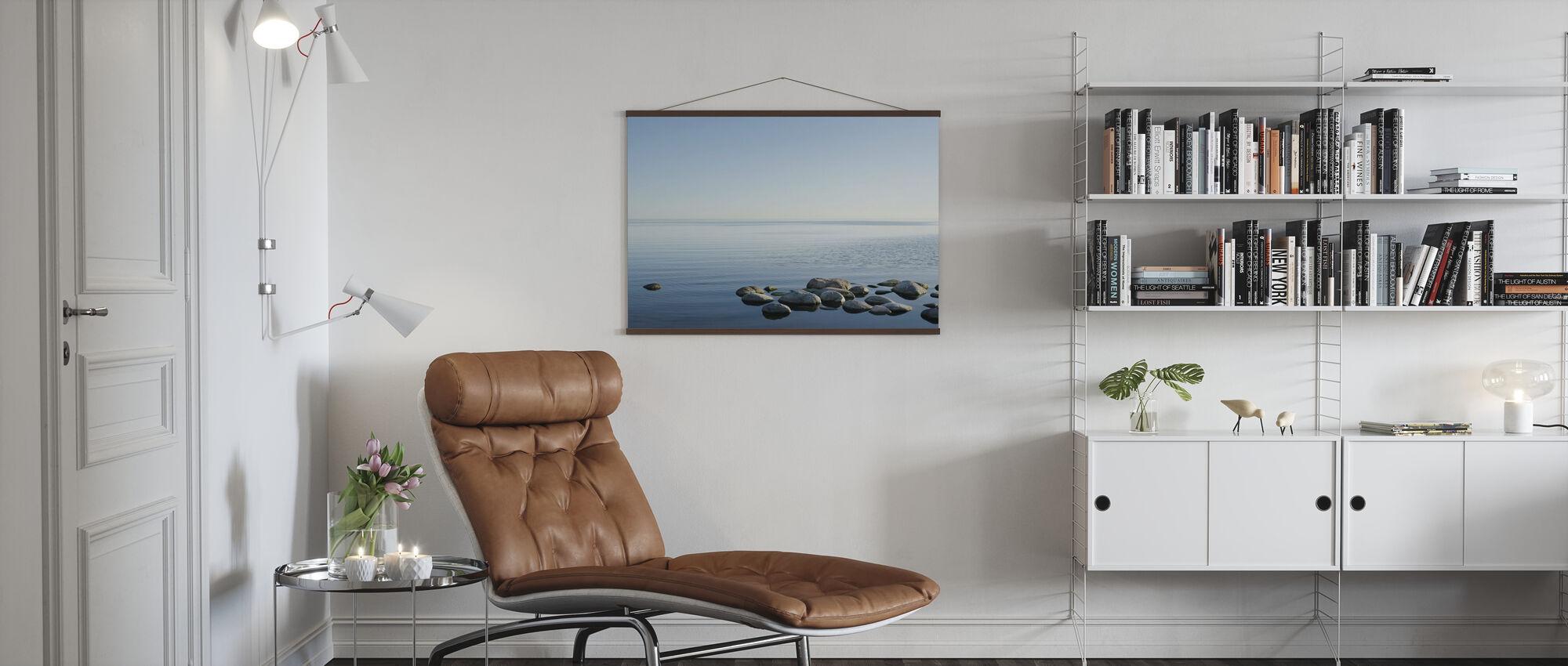 Zweedse Oceaan Horizon - Poster - Woonkamer