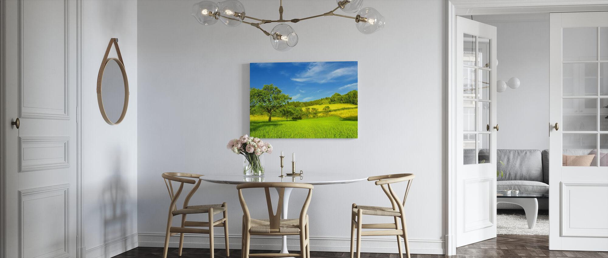 Sunny Summer Day - Canvas print - Kitchen