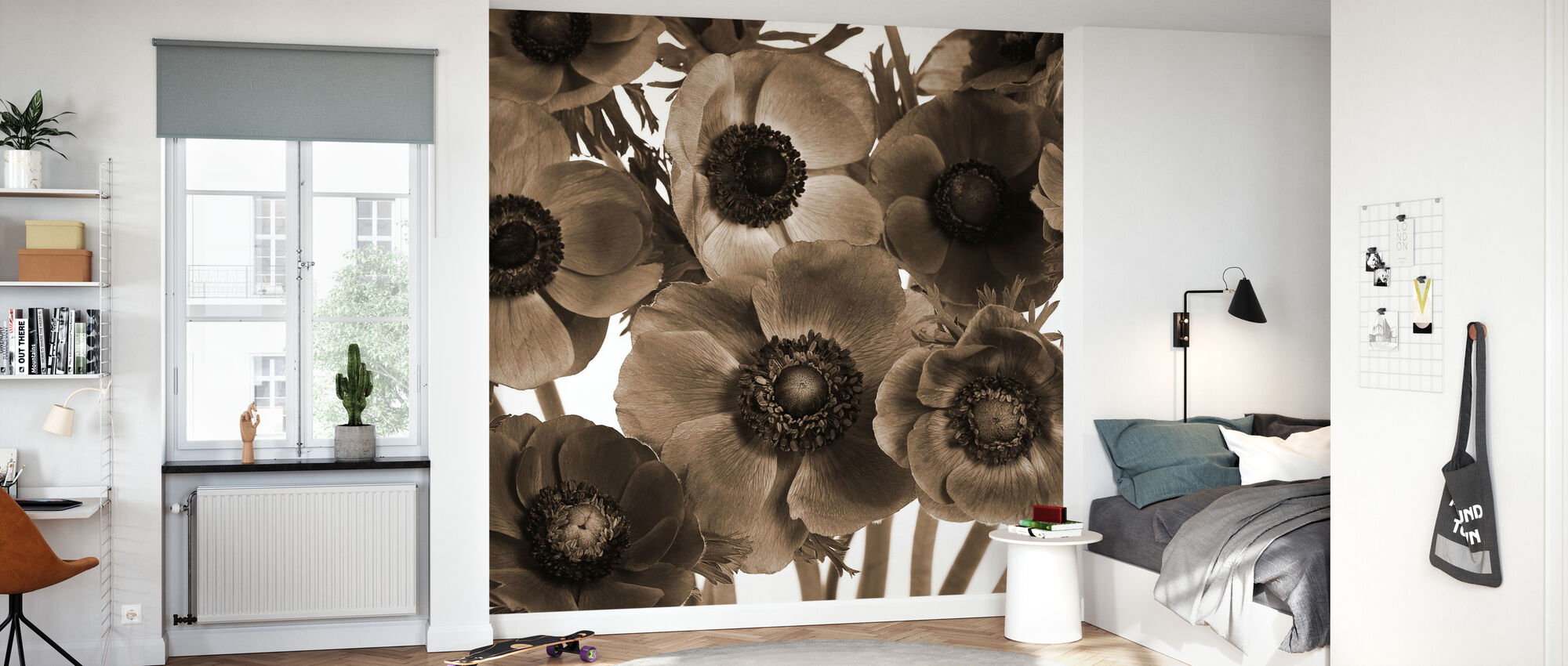 Anemones - Wallpaper - Kids Room