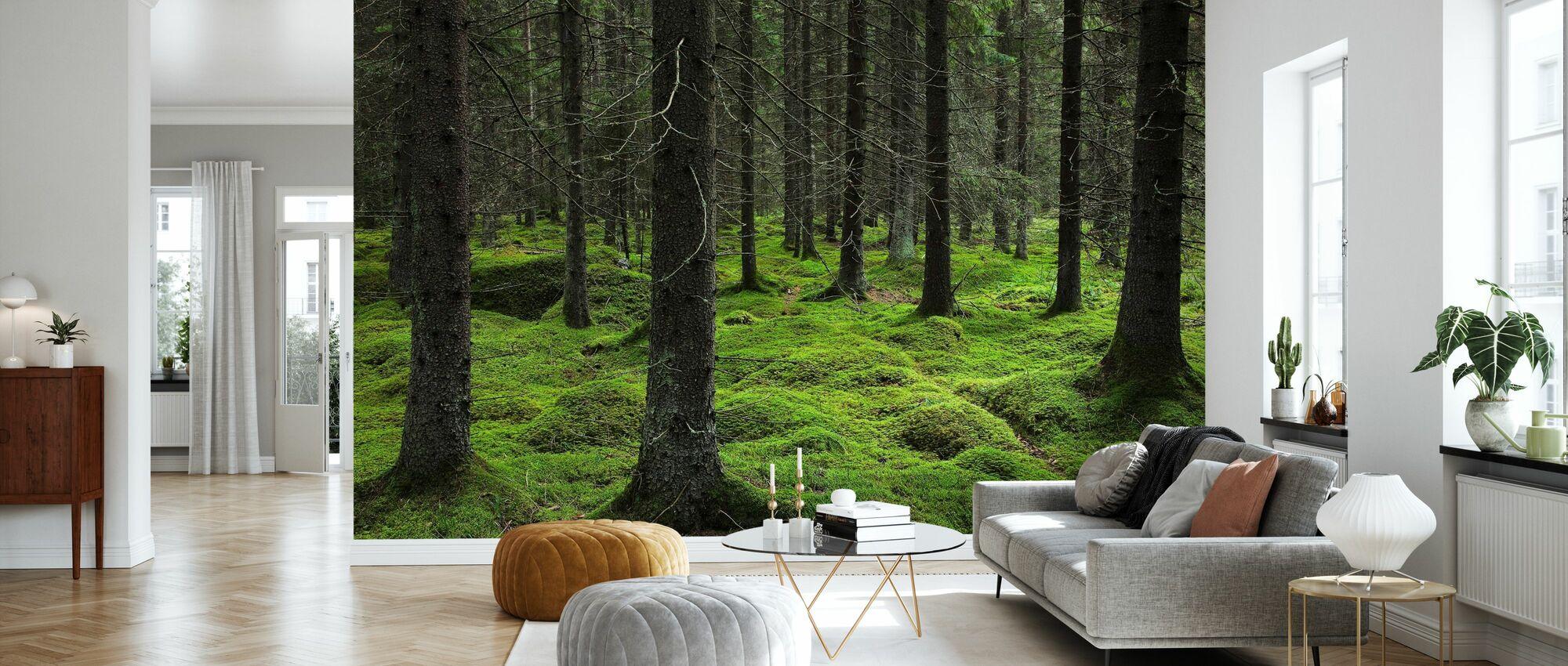 Peikko metsä - Tapetti - Olohuone