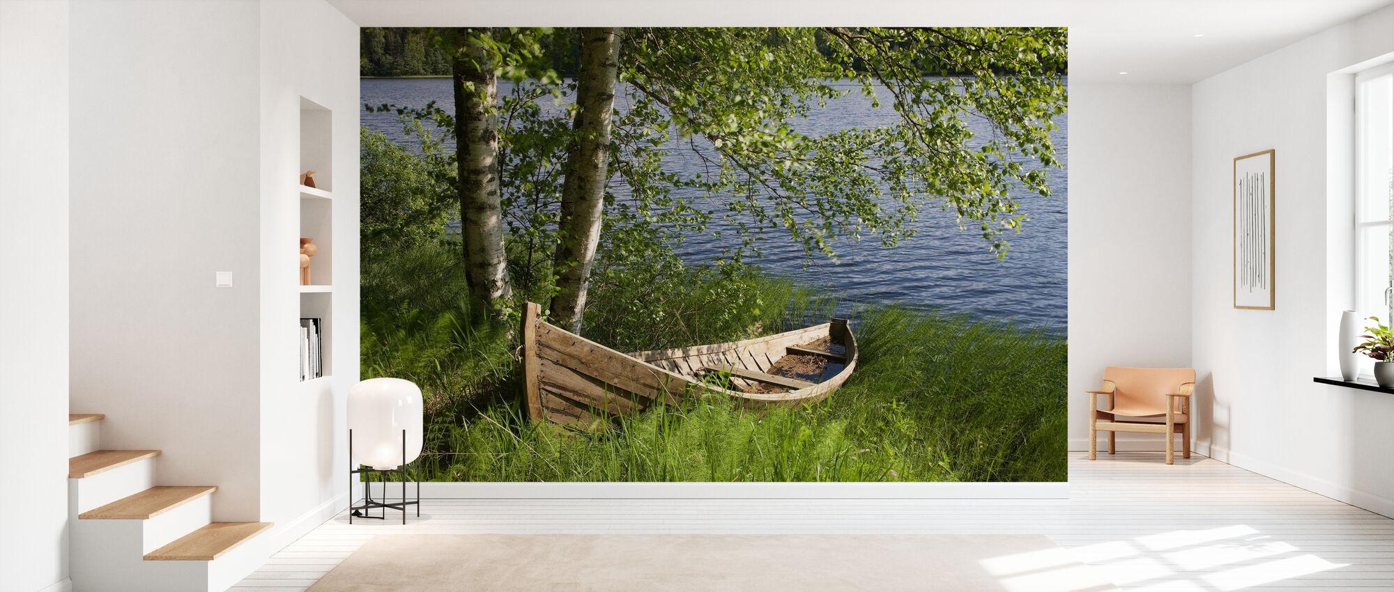 Summer Idyll - Wallpaper - Hallway