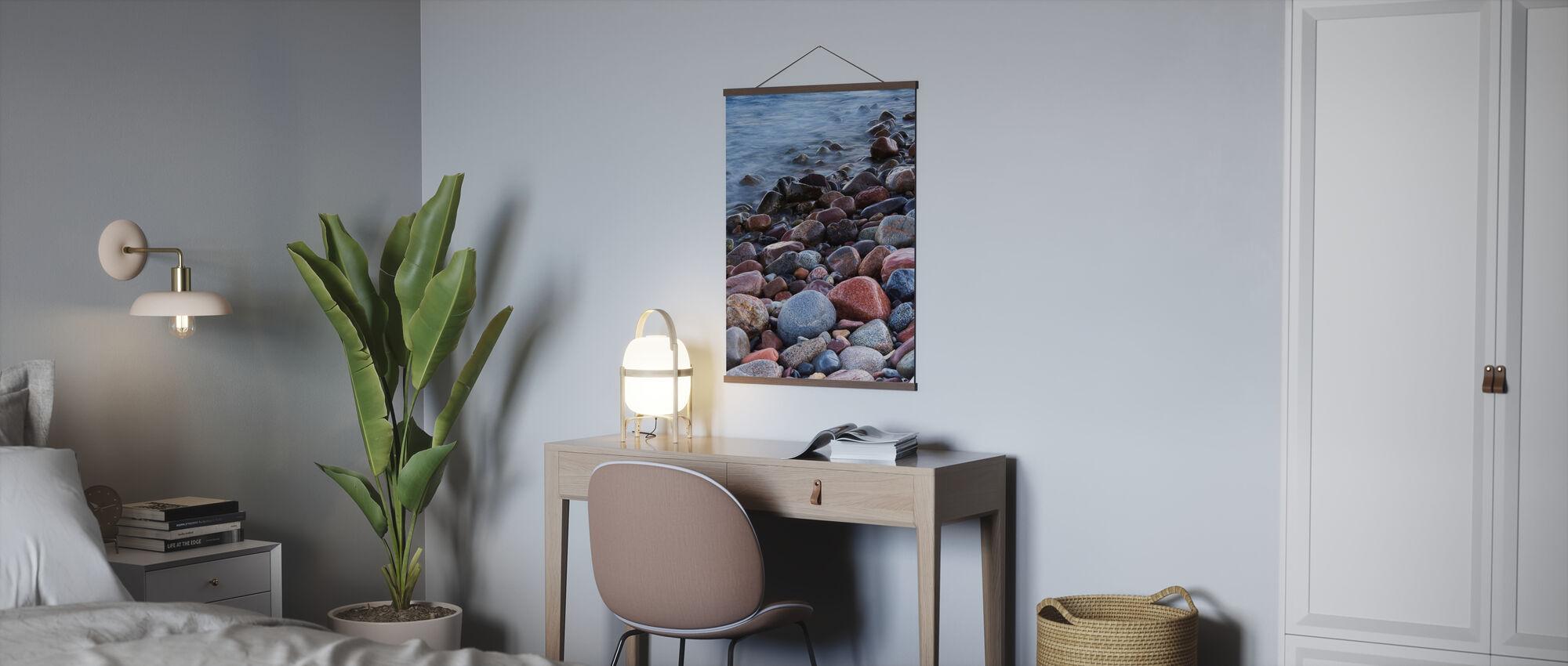 Steine 2 - Poster - Büro